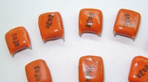 Скупка конденсаторов КМ рыж. V M1500