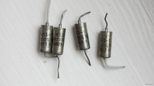 Скупка конденсаторов К53-1 мелких
