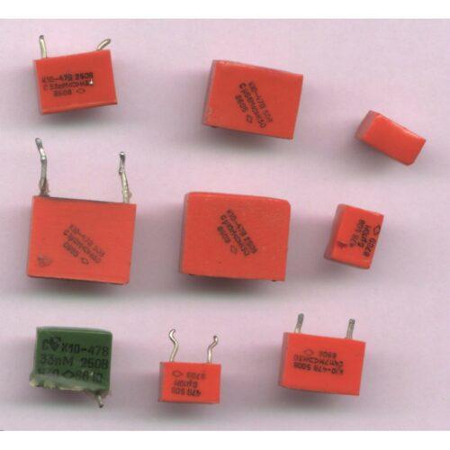 Скупка конденсаторов К10-17; 23; 43 (пластмассовый корпус)