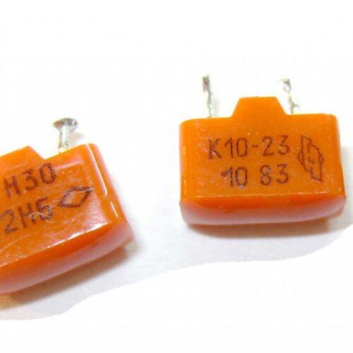 Скупка конденсаторов К10-23 Н30; D (пластмассовый корпус)