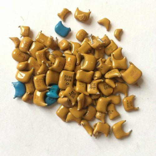 Скупка конденсаторов К10-17; 23; 43 (керамический корпус)